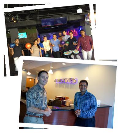 snapshots of social interactions at human resources company